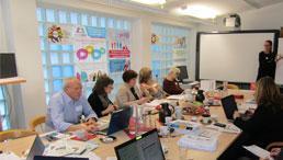 Teammeeting der Strategischen Partnerschaft im Programm Erasmus+IN-Life in Cham (Foto: VHS Cham)