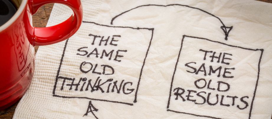 The same old thinking follows the same old results