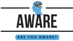 Logo: AWARE
