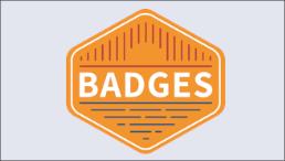 Projektlogo BADGES