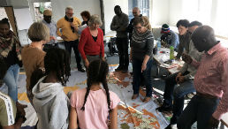 Erasmus+-Teilnehmende aktiv im Seminarraum