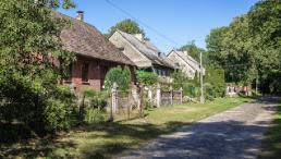 Haus in ländlicher Umgebung