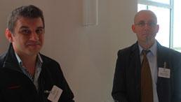 Johannes Sigl und Stephan Plichta machen sich stark für Erasmus+.