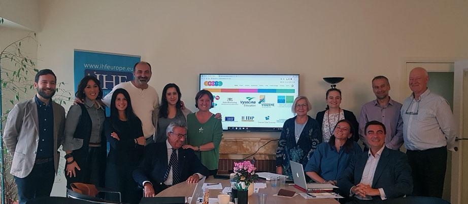 Erasmus+-Projektgruppe