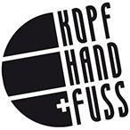 Kopf Hand + Fuß-Logo