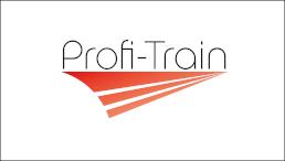 Projektlogo mit der Aufschrift Profi-Train