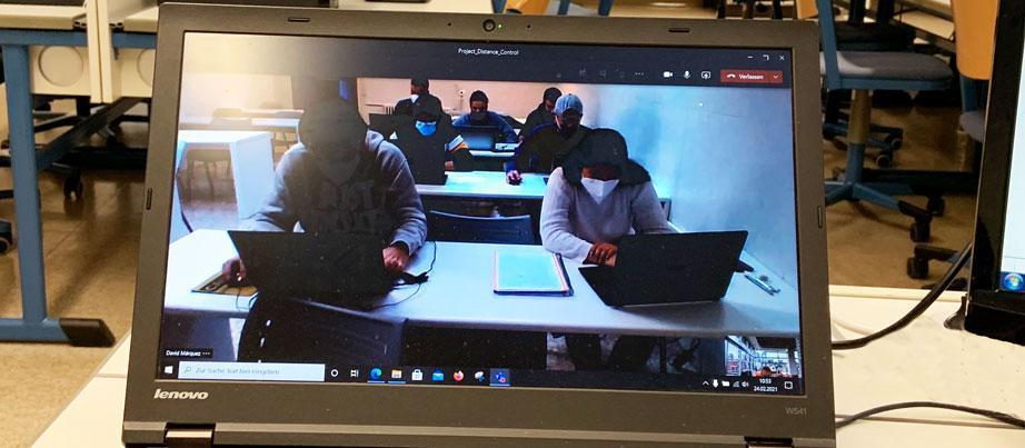 Online-Erasmus-Austausch