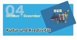 Oktober-Dezember: Kultur und Kreativität