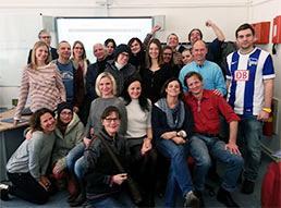 Gruppe der Teilnehmerinnen und Teilnehmer